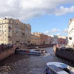 Promenade sur les canaux de Saint-Pétersbourg