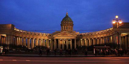 la cathédrale de Kazan de Saint-Pétersbourg - découverte de la ville avec un guide francophone