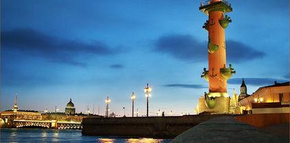 excursión por el Petersburgo de las Noches blancas