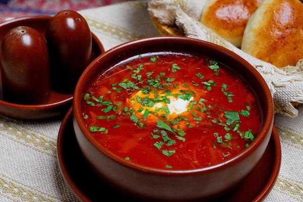 Cuisine russe: la soupe Bortsch