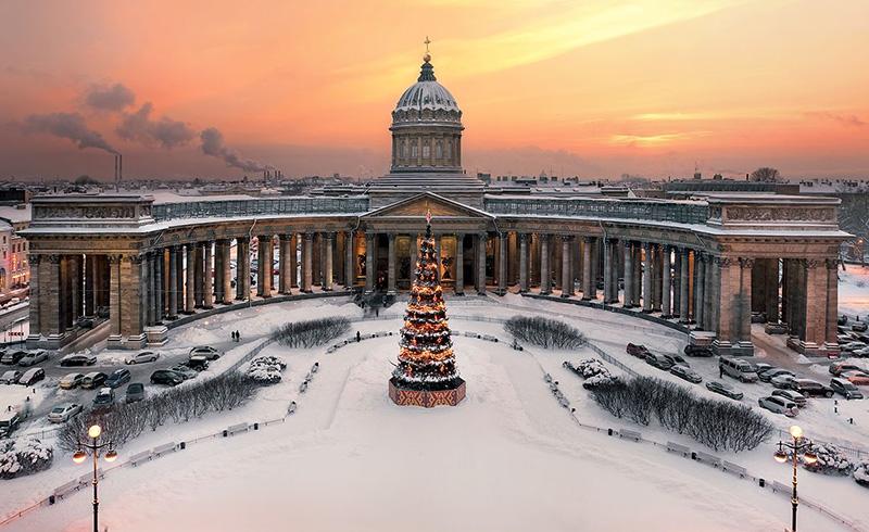 Le Noël et le Nouvel An à Moscou et Saint-Pétersbourg: programmes ...
