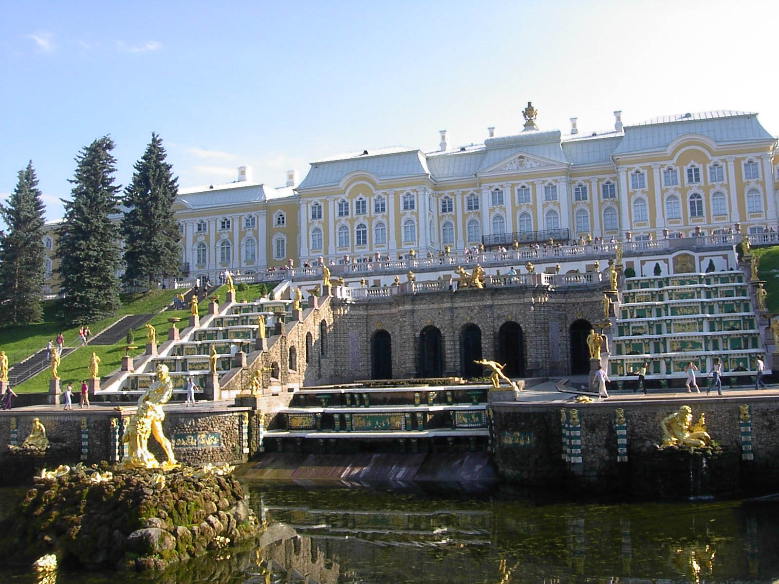 La visite de la ville de pavlovsk avec un guide for Au jardin du port le palais