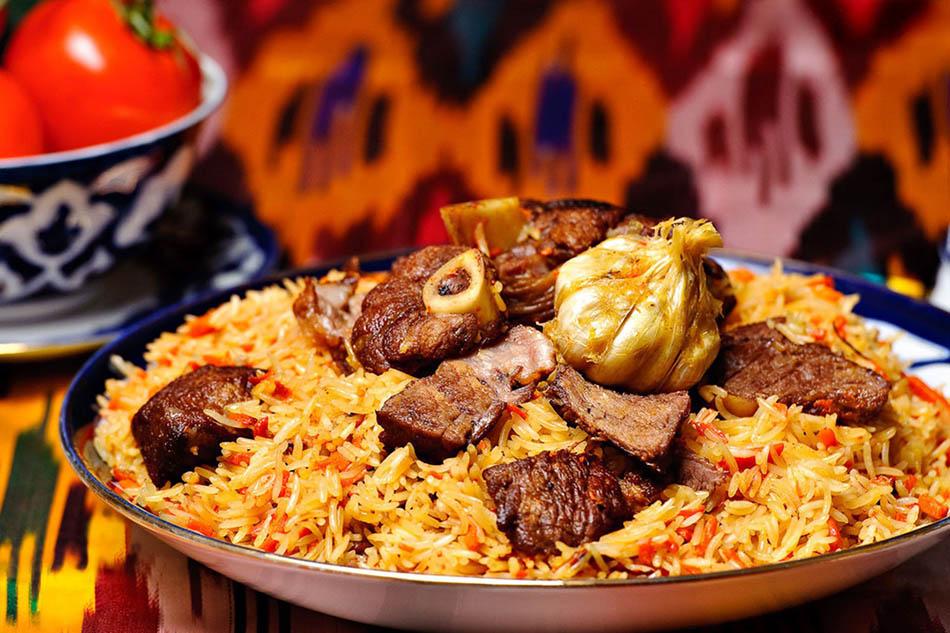 Le plov, cuisine ouzbek, séjour gastronomique en Russie