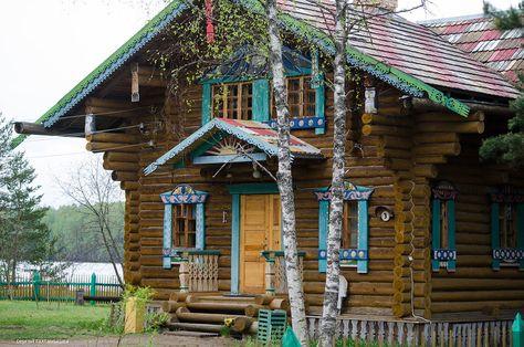 Le village Mandrogui - escale nature de croisières Saint-Pétersbourg-Moscou
