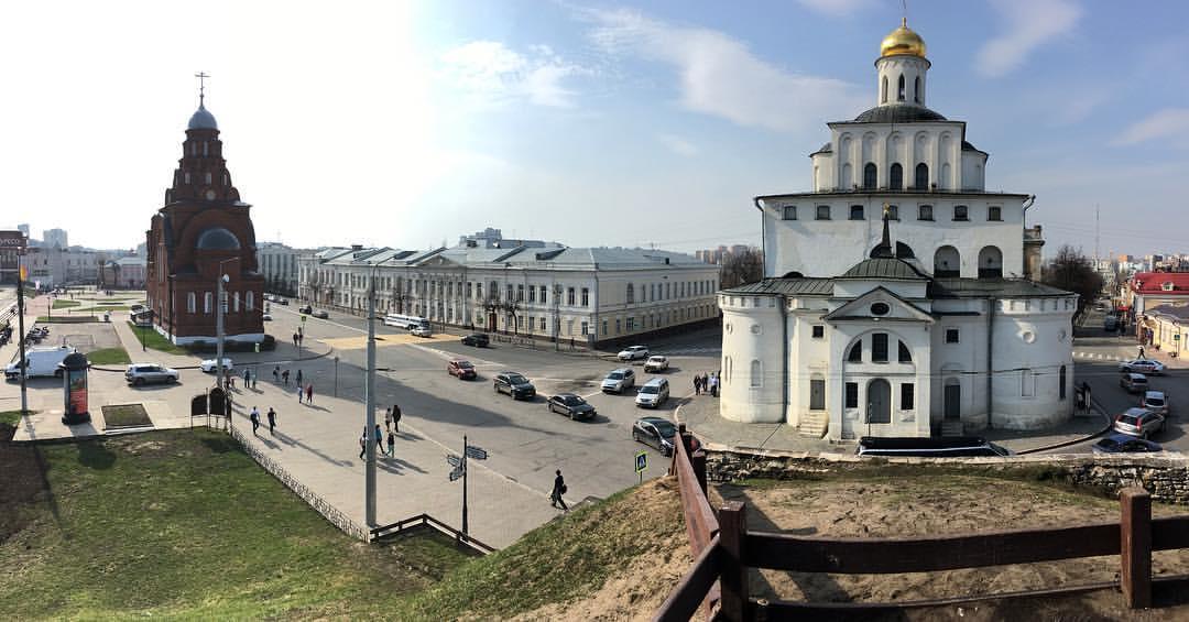Ville de Vladimir - voyage dans l'anneau d'Or de la Russie