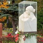 Nadezhda Alliluyeva (Stalin's wife) grave at Novodevichy Cemetery