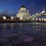 La Cathédrale du Christ Sauveur de Moscou, l'hiver 2018-19
