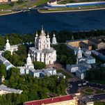 Smolny Cathedral and Smolny Convent of the Resurrection in Saint Petersburg