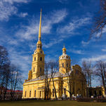 Saints Peter and Paul Cathedral in Saint Petersburg