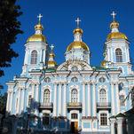 Catedral de San Nicolás de los Marinos en San Petersburgo