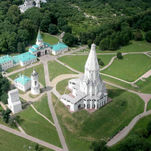 Le parc Kolomenskoïe - l'église de l'Ascension (patrimoine UNESCO)