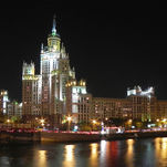 Kotelnicheskaya Embankment Building, one of Stalin's skyscrapers in Moscow