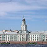 Кунсткамера - здание на берегу Невы
