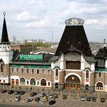 la gare de Iaroslavl, l'architecte Fiodor Schechtel, Moscou