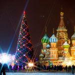 La Place Rouge et la Cathédrale Basile-le-Bienheureux en hiver - voyage de réveillon à Moscou