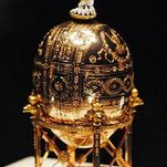 la collection du Musée Fabergé à Saint-Pétersbourg
