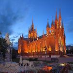 La principale cathédrale catholique de Moscou: de l'Immaculée-Conception