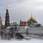 El convento Novodévichi nevado - excursión con guía de Moscú en español