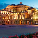 Théâtre Mariinsky à Saint-Pétersbourg, la scène principale (historique)