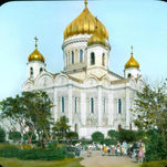 Cathedral of Christ the Savior before its demolition in 1931