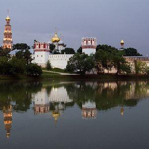 Le couvent de Novodievitchii à Moscou