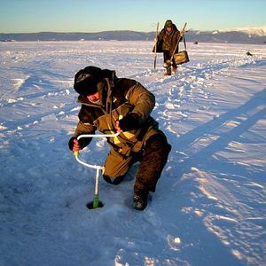 Pêche au Lac Baïkal