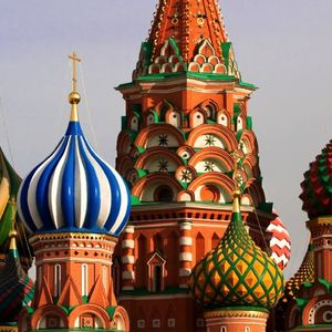 Saint Basil's Cathedral in Moscow (Red Square)