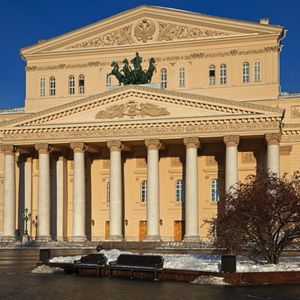 the Bolshoi Theatre, Moscow