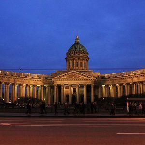 Cathédrale de Notre-Dame-de-Kazan à Saint-Pétersbourg