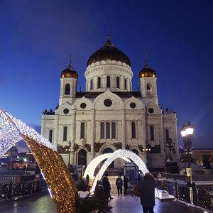 Cathédrale du Christ Sauveur de Moscou
