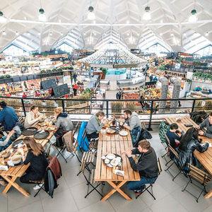 Le marché Danilovsky de Moscou