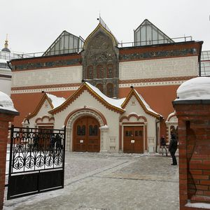 Guided tour to the Tretyakov Gallery