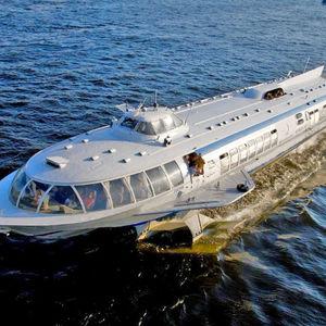 Hydroglisseur Saint-Pétersbourg-Peterhof