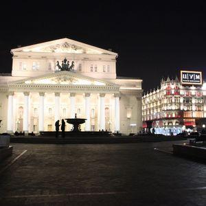 Séjour à Moscou: le théâtre Bolchoï