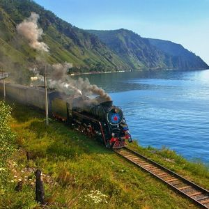 Trains en Russie