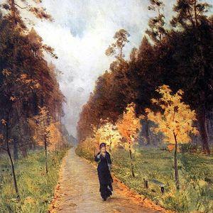 Issak Levitan, une journée d'automne, 1879 - à parc Sokolniki