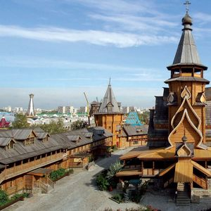 Vernissage d'Izmailovo à Moscou