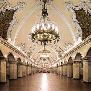 La excursión en el metro de Moscú
