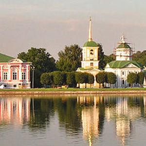 Moscou: le château de Kouskovo