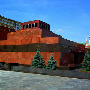 Lenin's Mausoleum on the Red Square