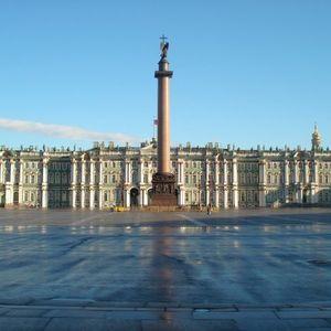 Palacio de invierno, museo del Ermitage de San Petersburgo