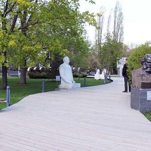 le parc Museon à Moscou