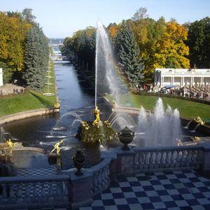 Palais et parc de Peterhof