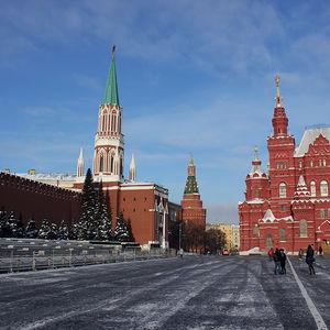 La Place Rouge, Moscou