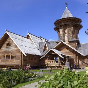 restaurant Podvorié de la cuisine russe à Pavlovsk