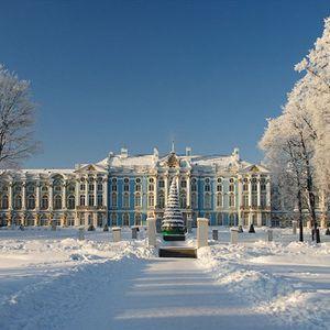 Palais Catherine à Tsarskoïe Selo (Pouchkine)