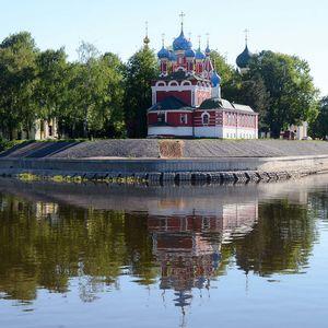 l'église Prince-Dimitri-sur-le-Sang-Versé à Ouglitch, croisière Moscou-Saint-Pétersbourg