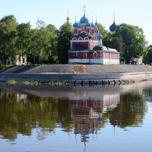 Croisière Saint-Pétersbourg-Moscou, jour 8, Ouglitch,l'église Prince-Dimitri-sur-le-Sang-Versé