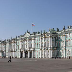 Saint-Pétersbourg, jour 1, la visite de l'Ermitage