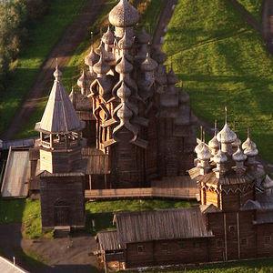 Croisières 5* Moscou-Saint-Pétersbourg, jour 5 - Île de Kiji (Kizhi)